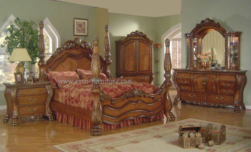 Comely Antique Bedroom Furniture