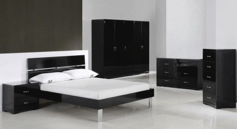 Well Formed Black Gloss Furniture