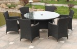Admirable Black Rattan Garden Furniture
