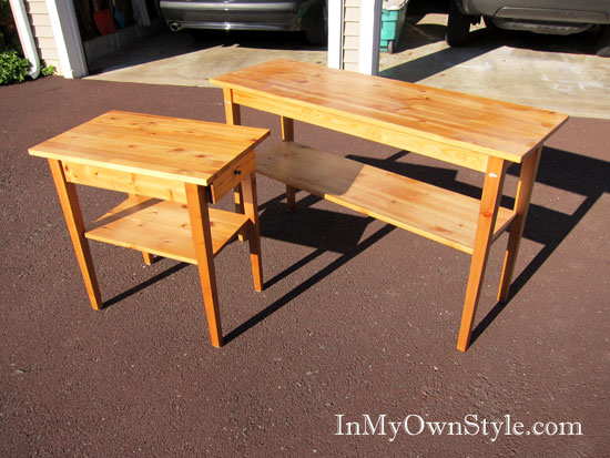 Simple Cheap Pine Furniture