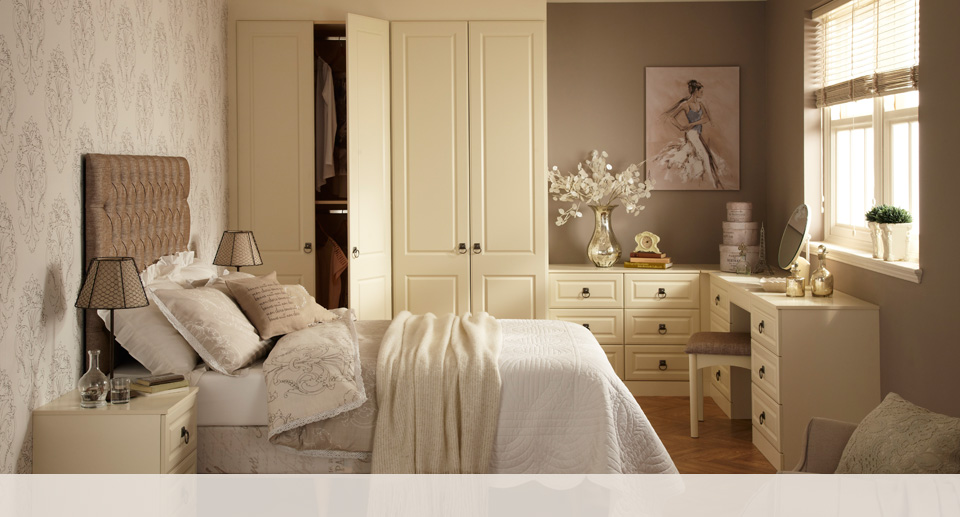 Elegant Cream Bedroom Furniture