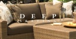 Brown Deep Seating Patio Furniture
