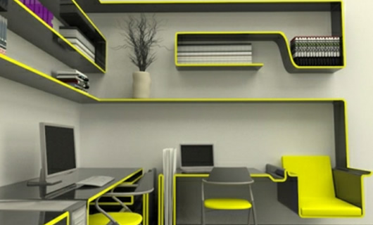Yellow Designer Office Furniture