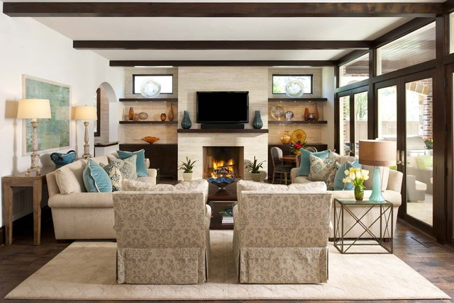 Graceful Family Room Furniture