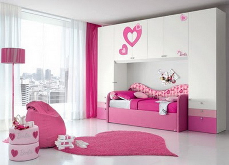 Pink Girls Bedroom Furniture