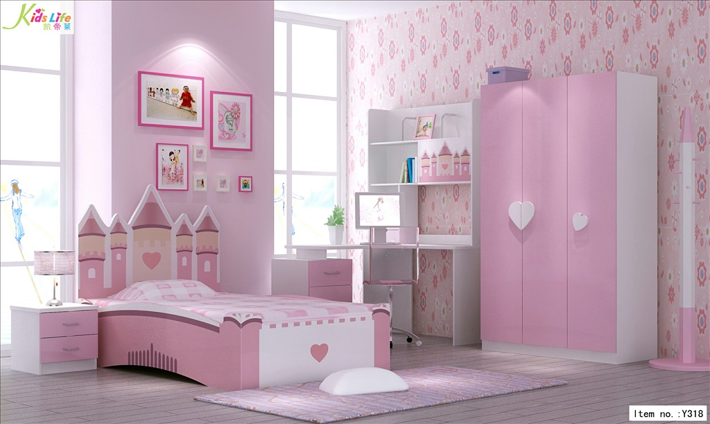 Pink Kid Bedroom Furniture