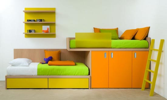 Bright Kids Room Furniture