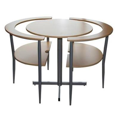Unique kitchen table and chairs 2016 for Unique small dining tables