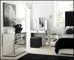 Wonderful Mirrored Bedroom Furniture