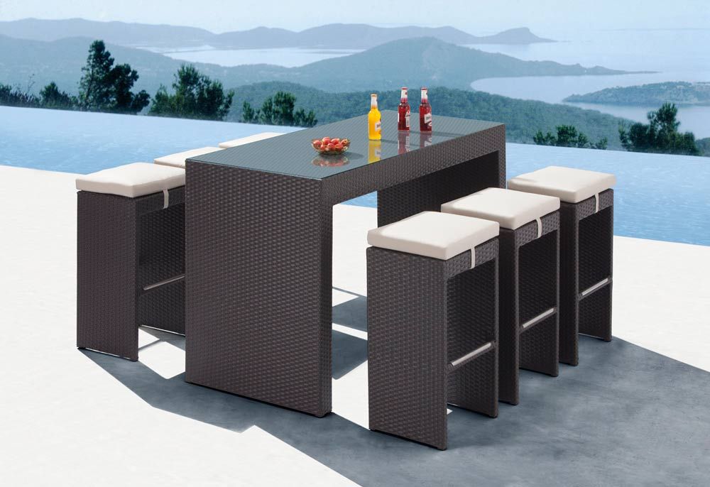Simple Outdoor Dining Furniture 2016