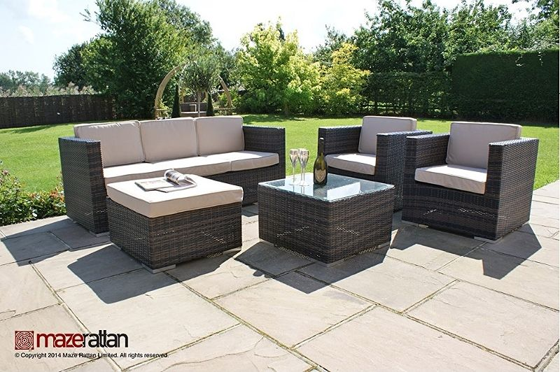 Alluring Outdoor Rattan Furniture