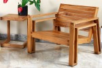 Taking Outdoor Wood Furniture