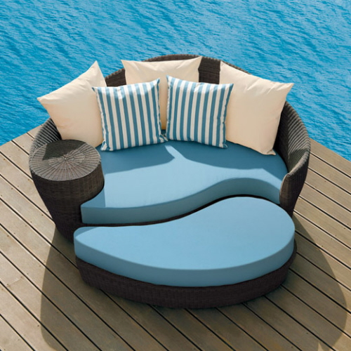 Blue Patio Furniture