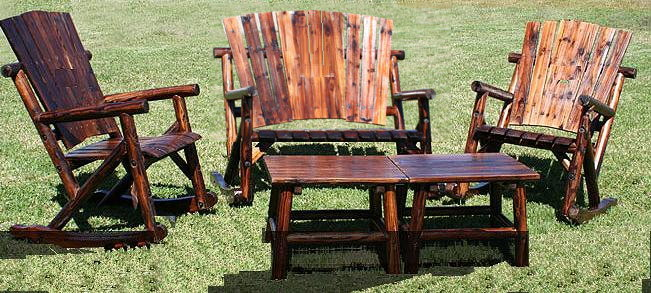Amazing Rustic Outdoor Furniture