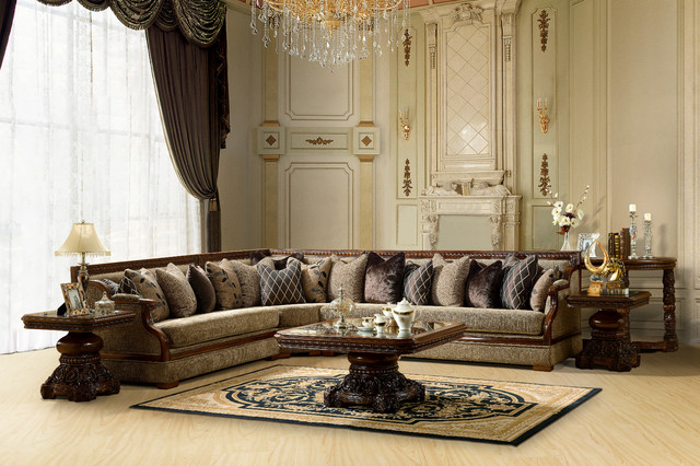 Dazzling Traditional Living Room Furniture