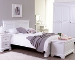 Refined White Bedroom Furniture