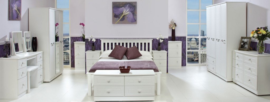 Ravishing White Bedroom Furniture Sets