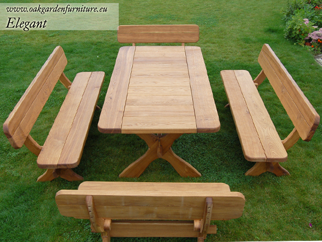 Easy Wooden Garden Furniture Sets