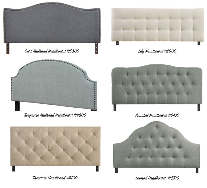 types of headboards 2016