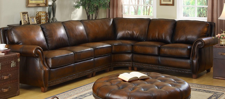 Artisan Leather Sectional