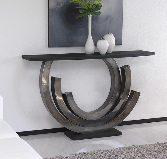 Dramatic Console Table