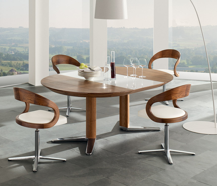 Oval Walnut Dining Furniture