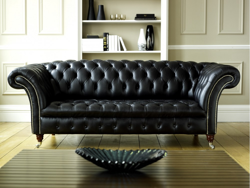 Radiant Leather Couches
