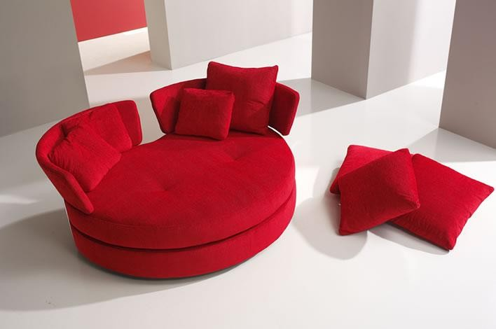 Swivel Loveseat
